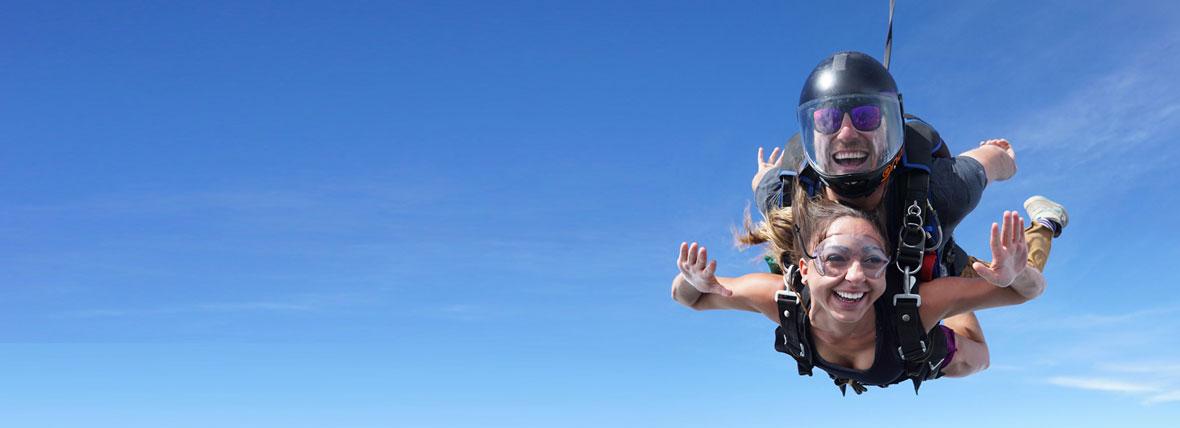 Прыгнуть с парашютом в спб